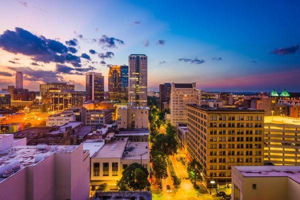 Birmingham,,Alabama,,Usa,Downtown,City,Skyline.